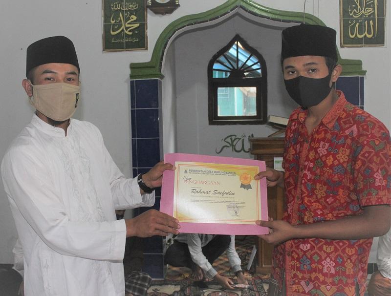 JARO RUHANDI BERI REWARD KEPADA MASYARAKAT YANG HAFAL ALQURAN