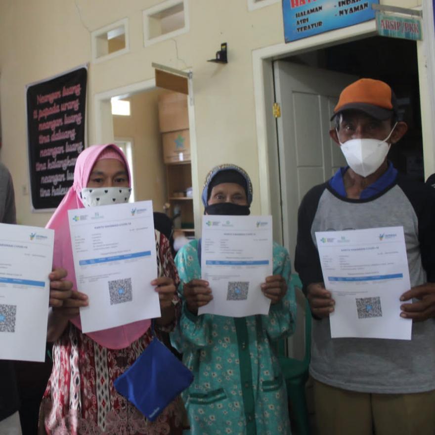 Desa Warungbanten Gelar Vaksin Massal untuk Masyarakat